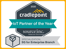Cradlepoint partner of the year